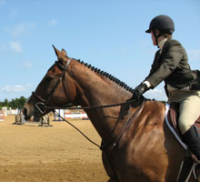 photo of an equestrian rider